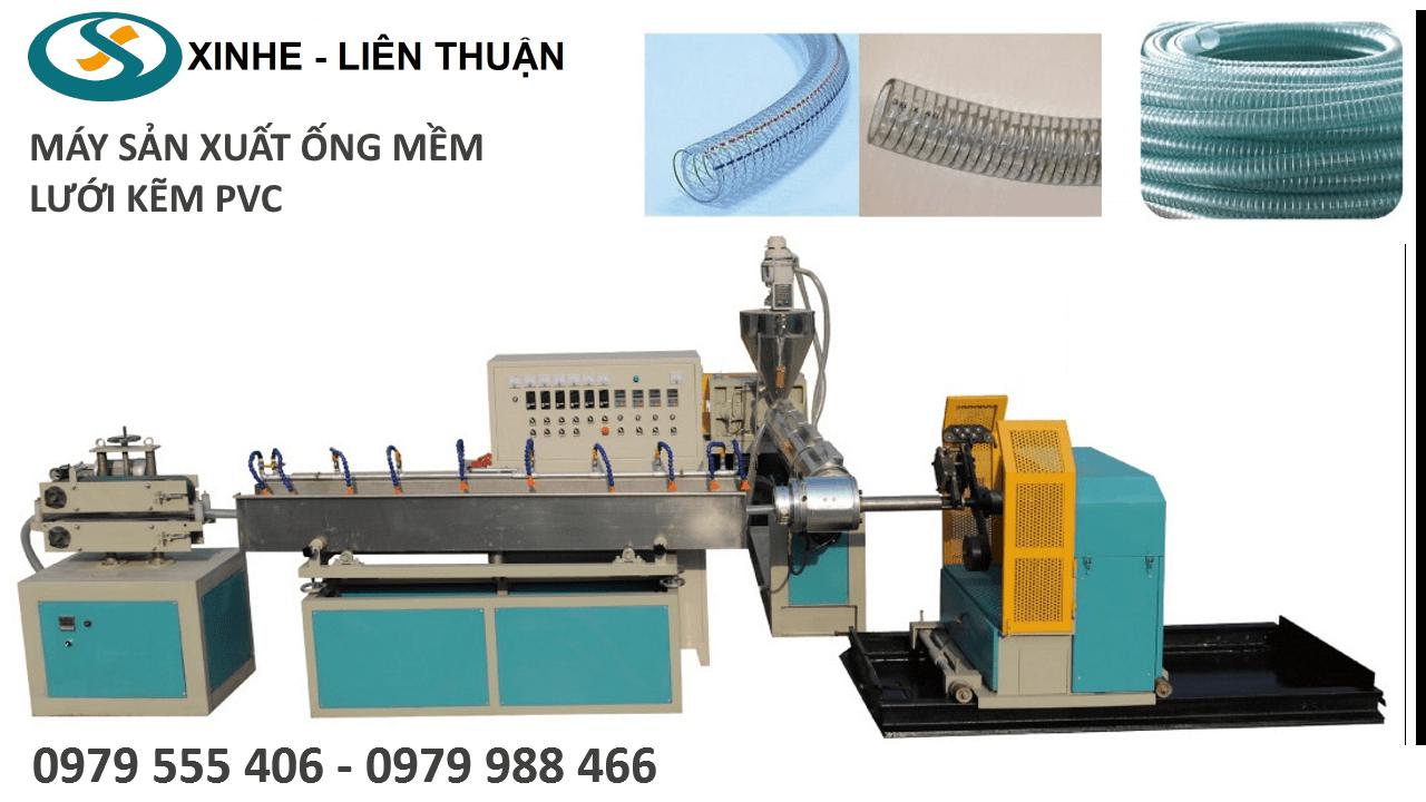 Máy sản xuất ống pvc lưới kẽm