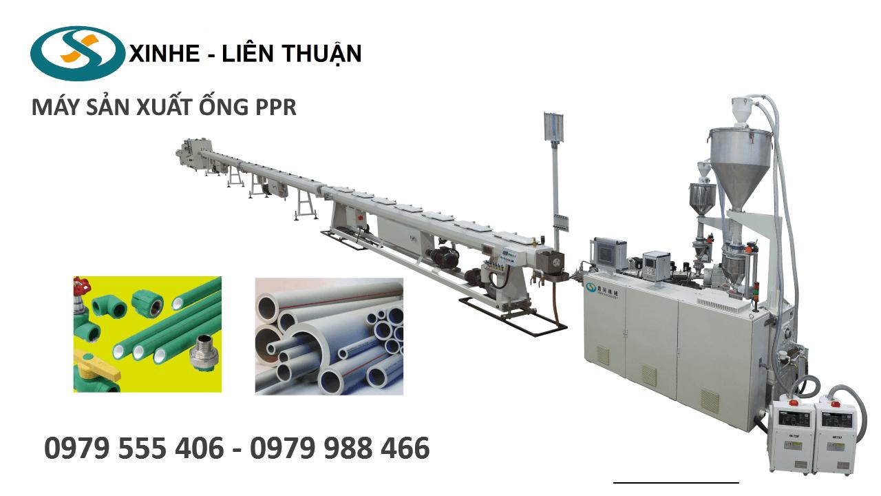 Máy sản xuất ống PPR
