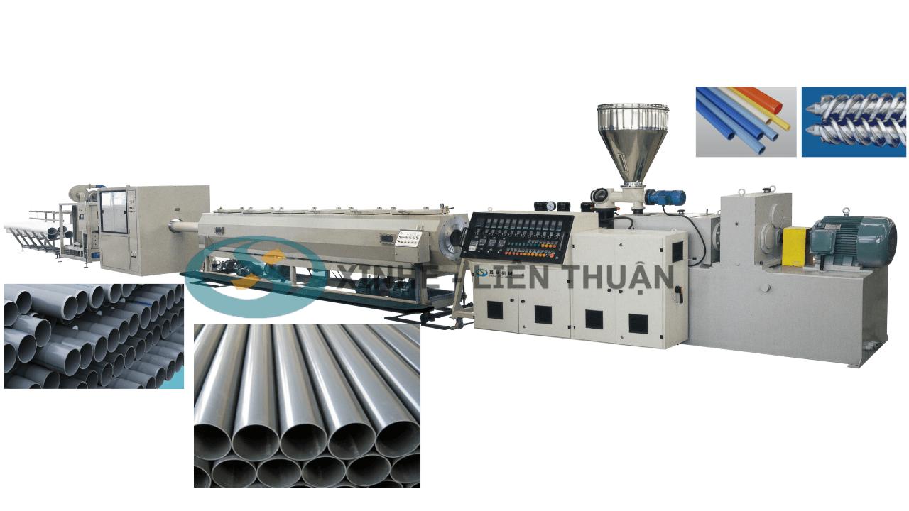 máy sản xuất ống pvc