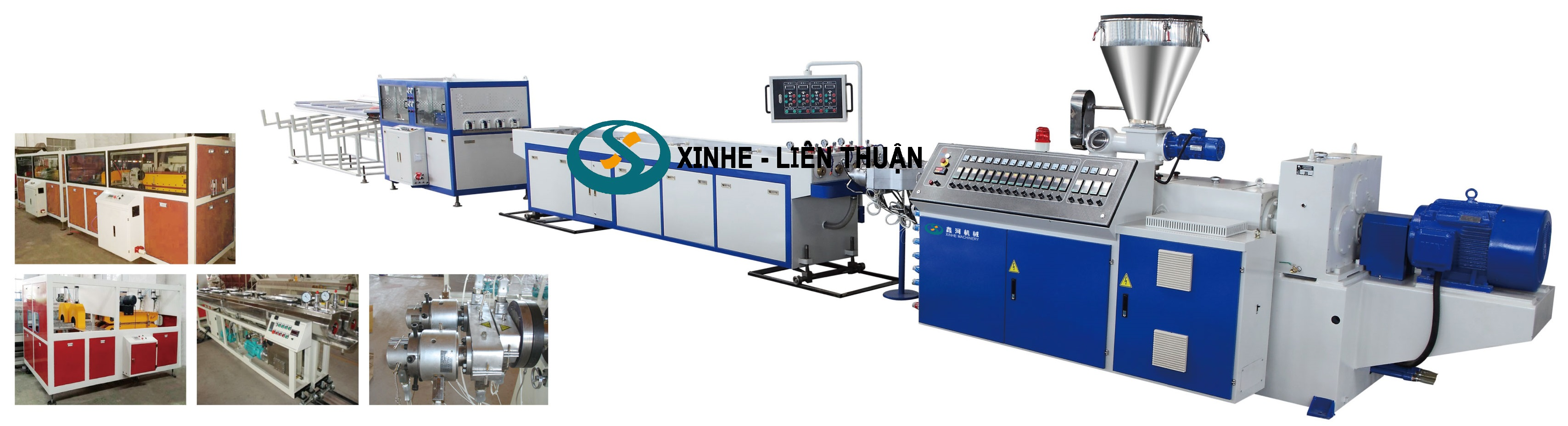 PVC Double-Pipe/Four-Pipe Production Line