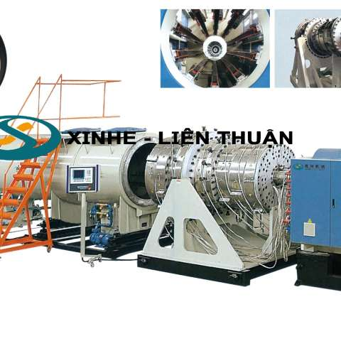 Large Diameter HDPE Water Supply & Gas Supply Pipe Extrusion Line