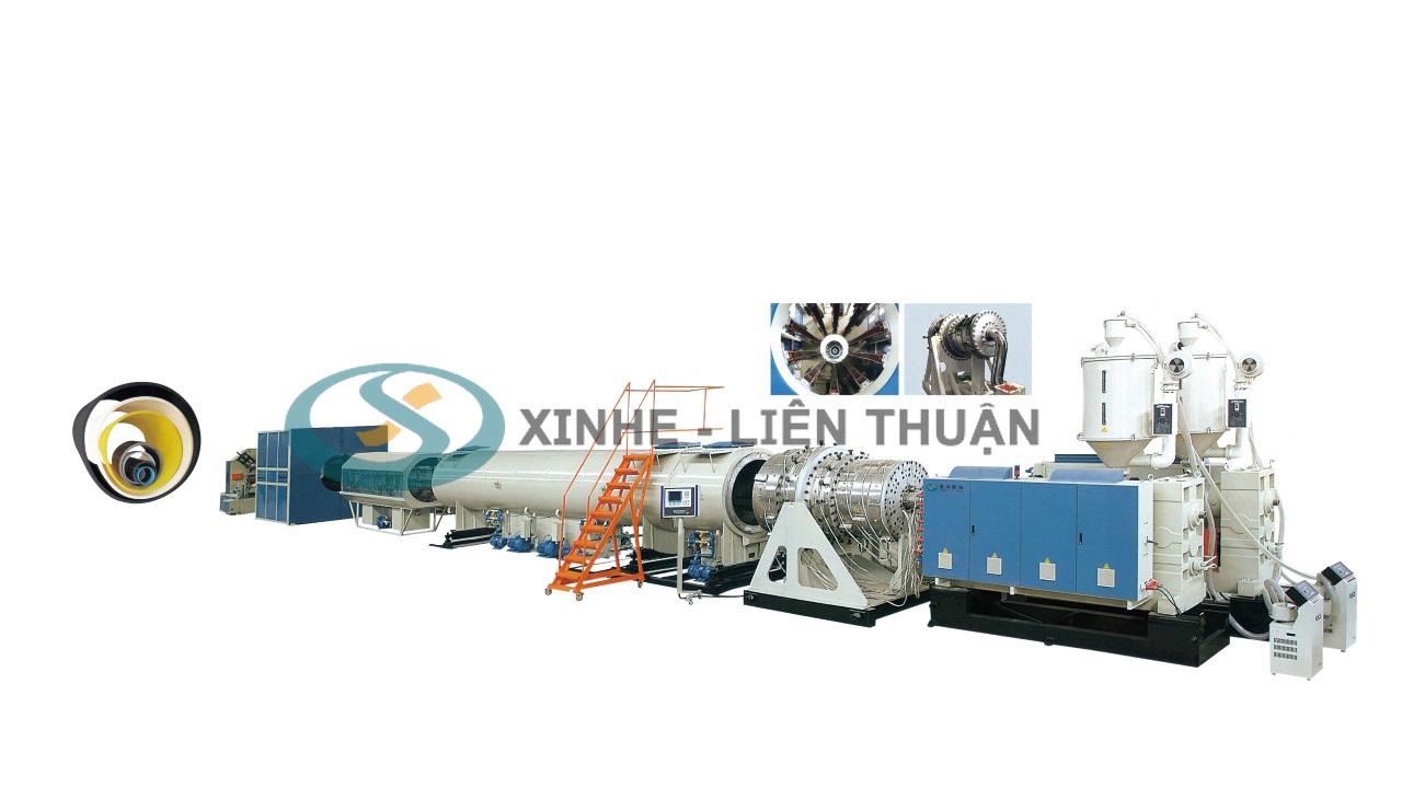 máy sản xuất ống hdpe