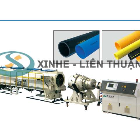 HDPE,PP,MPP Pipe Production Line