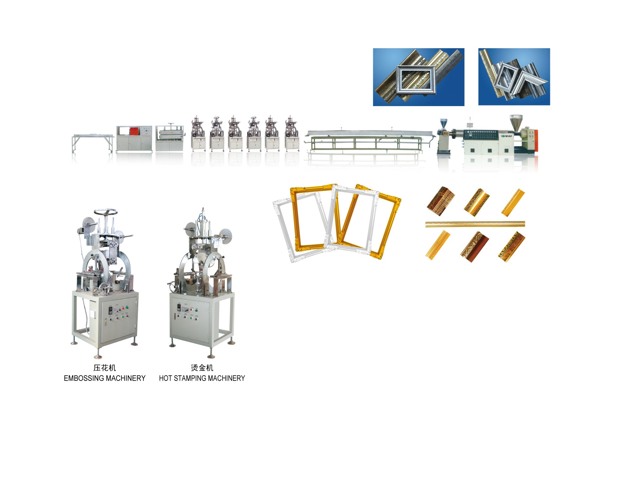 Plastic Foam Picture Frame Profile Production Line