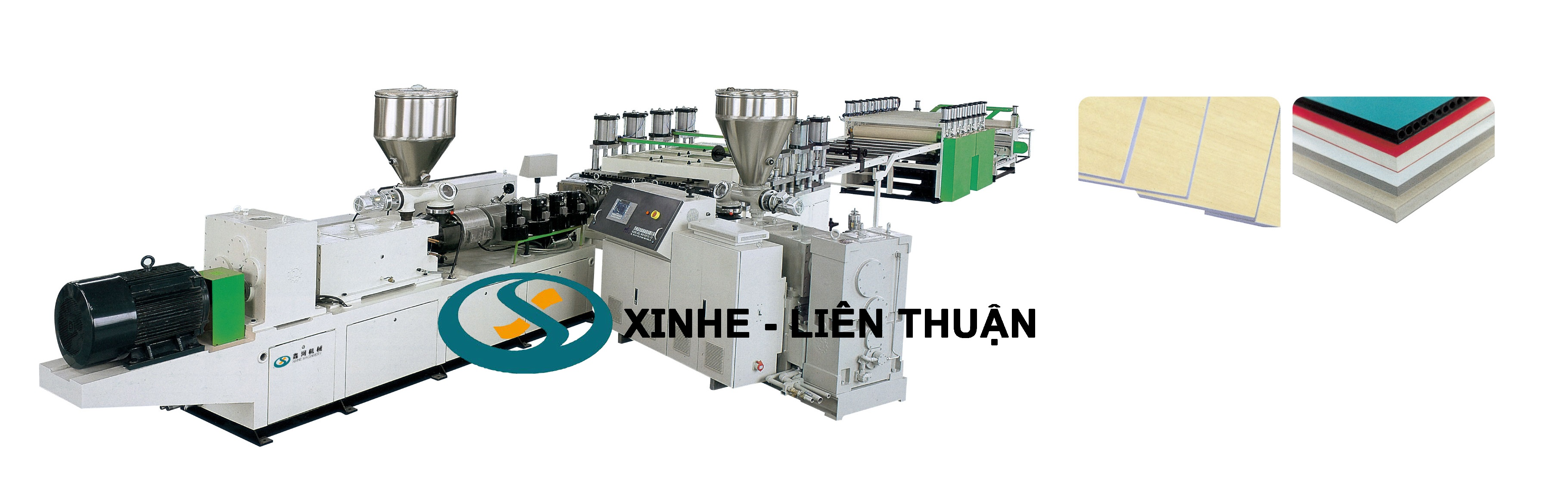PVC(WPC) Core Foaming Board Extrusion Line