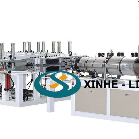 PVC Skinning(WPC) Foaming Board Extrusion Line