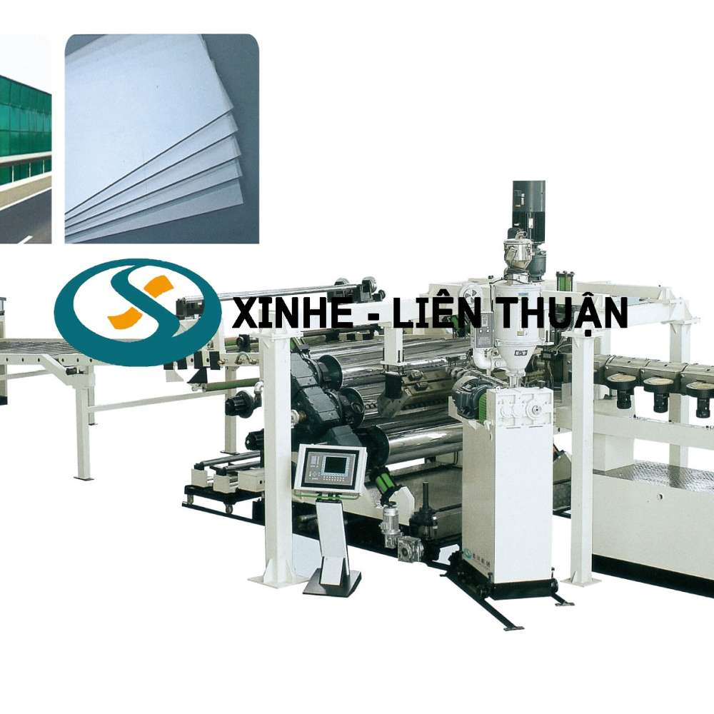 PC,PMMA,GPPS Plastic Sheet & Plate Extrusion Line