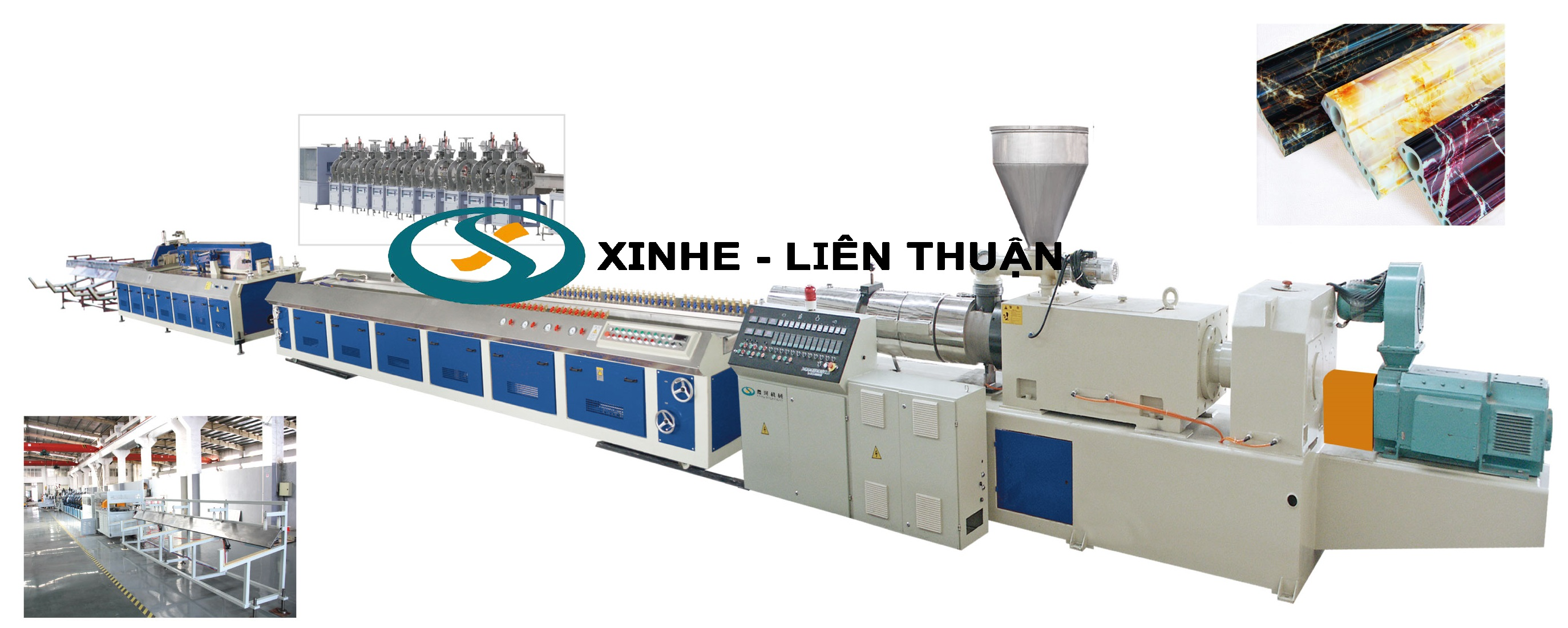PVC Artifical Marble Profile Production Line