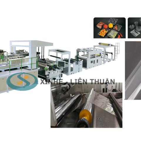 máy sản xuất màng pet