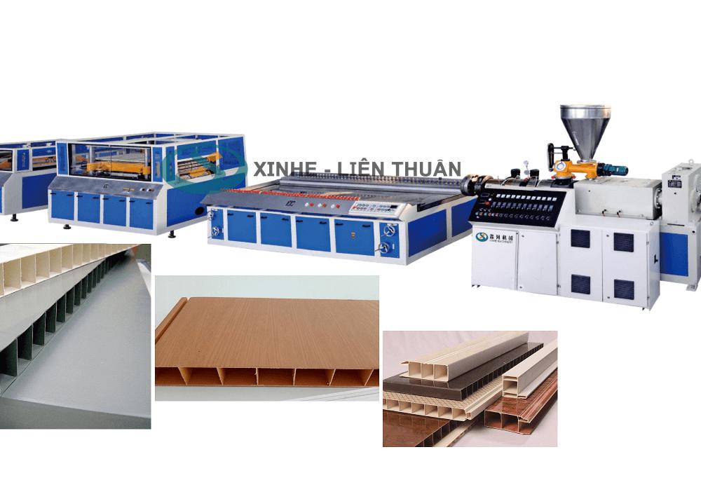 máy sản xuất tấm tủ nhựa