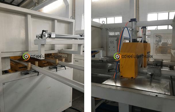máy sản xuất ống nhựa đôi PVC