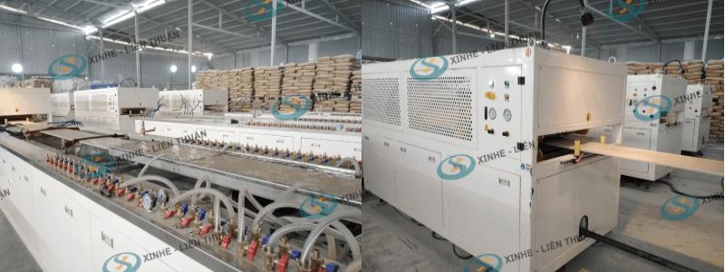 máy sản xuất tấm trần nhựa