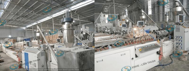 máy sản xuất tấm la phông