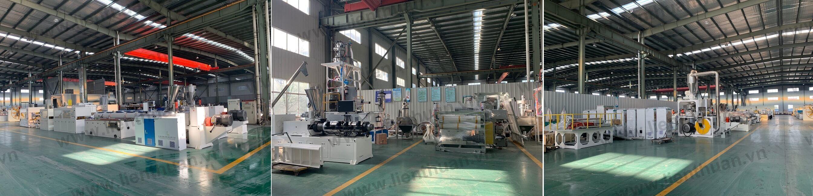 máy sản xuất nhựa