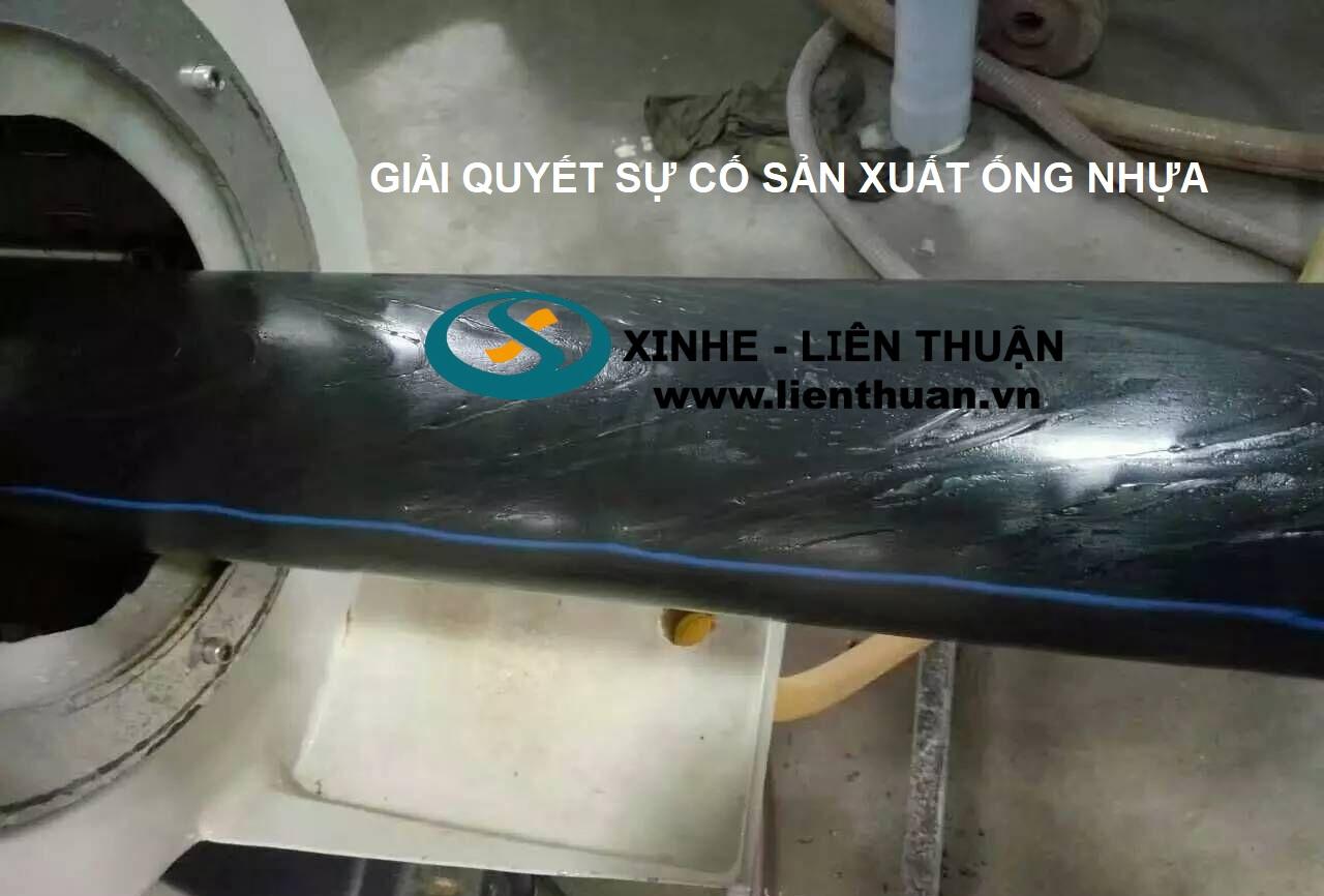 Sự cố của dây chuyền sản xuất ống nhựa
