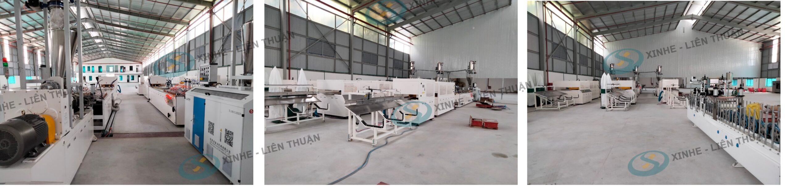 máy sản xuất tấm ốp tường pvc