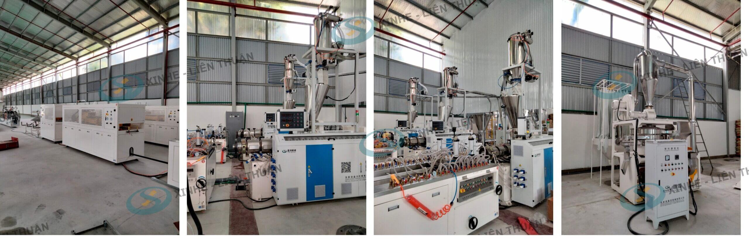 máy sản xuất tấm fomex chính hãng