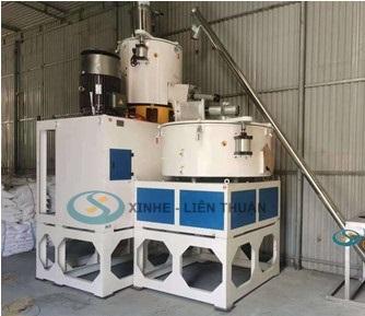 máy trộn nguyên liệu sản xuất