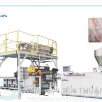 Máy sản xuất sàn nhựa SPC SJSZ-92/188 Rộng 1050mm độ dày 2mm-8mm