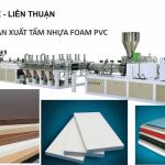 Máy Sản Xuất Tấm Foam PVC-Fomex