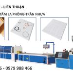 Máy Sản Xuất Tấm La Phông – Tấm Trần Nhựa PVC